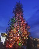 Tollwood. Christmas is recycled Stock Image