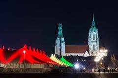 Tollwood winter festival in Munich Stock Photo