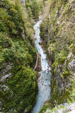 Tolmin gorge, nature, Slovenia Royalty Free Stock Image