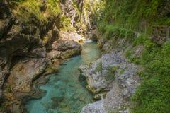 Free Tolmin Gorge, Slovenia Royalty Free Stock Photo - 65138745