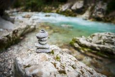 Tolmin-Schlucht, Natur, Slowenien Lizenzfreie Stockfotos