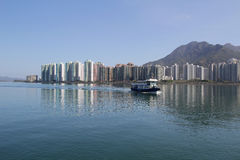 Tolo harbour Landscape in Hong Kong Ma On Shan Royalty Free Stock Photography