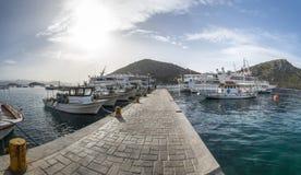 Tolo port, Grekland Royaltyfria Foton