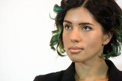 Πορτρέτο Tolokonnikova Nadezhda Στοκ φωτογραφία με δικαίωμα ελεύθερης χρήσης