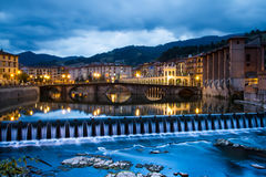Tolosa. Old town river   Basque Country  Spain Stock Photos