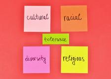 tolérance Image libre de droits