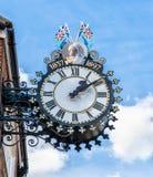 Tolsey zegar w Wotton Pod krawędzią, Gloucestershire obrazy stock