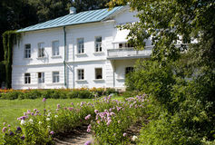 tolstoy yasnaya för godsmuseumpolyana Arkivbild