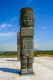 Toltec sculptures Royalty Free Stock Photography