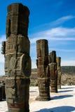 Toltec sculptures Stock Photo