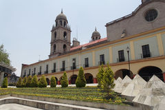 Toluca Cathedral royalty free stock photos
