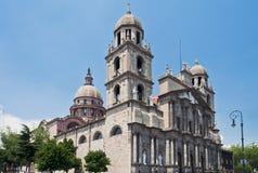 Toluca de Lerdo Catedral México imagem de stock