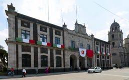 Toluca Mexiko - stadshus royaltyfri bild