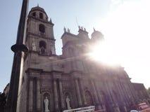 Toluca o Toluca de Lerdo es la capital del estado de Ciudad de México fotos de archivo