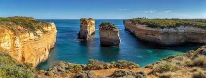 Tolv apostlar, port Campbell, Victoria, Australien, stor hav väg, Victoria, Australien fotografering för bildbyråer