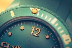 Tolv av klockan Royaltyfri Foto