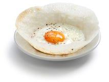 Tolva srilanquesa del huevo fotografía de archivo libre de regalías