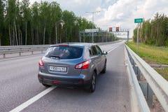 Tolweg Russisch wegaantal M11 Royalty-vrije Stock Afbeelding