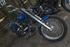 TOLYATTI, RUSSIA, JULY 03, 2010: biker show. royalty free stock image