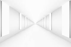 Tom abstrakt banaväg med den ljusa ramlutningen för idérikt begrepp för framgång för bakgrund för projektkopieringsutrymme Fotografering för Bildbyråer