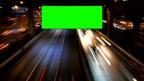 Tom advertizinggräsplanskärm arkivfilmer
