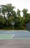 tom basketdomstol Royaltyfri Fotografi