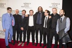 Tom Berninger et les membres du groupe nationaux Photos stock