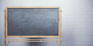 tom blackboard Royaltyfri Fotografi