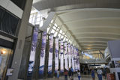 Tom Bradley International Terminal Royalty Free Stock Photo