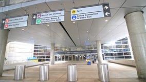 Tom Bradley International Terminal TBIT immagini stock