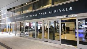Tom Bradley International Terminal TBIT immagine stock