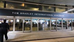 Tom Bradley International Terminal TBIT fotografia stock libera da diritti