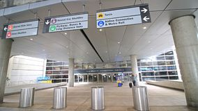 Tom Bradley International Terminal TBIT immagine stock libera da diritti