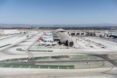 Tom Bradley Terminal en LAX foto de archivo