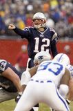 Tom Brady des New England Patriots image libre de droits