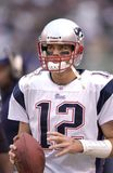 Tom Brady New England Patriots stock image
