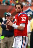 Tom Brady in NFL-Aktion stockfotos