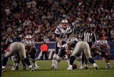 Tom Brady throwing pass Royalty Free Stock Photo