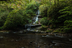 Tom Branch Fall im North Carolina Lizenzfreie Stockbilder