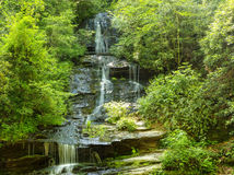 Tom Branch Falls royaltyfria bilder