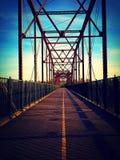 tom bro Arkivfoto