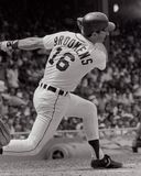 Tom Brookens Detroit Tigers arkivbild