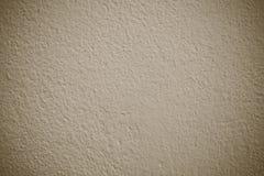Tom brun bakgrund för textur för grungecementvägg, baner som är inter- Fotografering för Bildbyråer