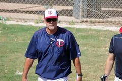Tom Brunansky of the Minnesota Twins Royalty Free Stock Images