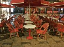 tom cafe royaltyfria bilder