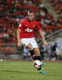 Tom Cleverley of Man Utd. Royalty Free Stock Photo