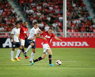 Tom Cleverley of Man Utd. Royalty Free Stock Images