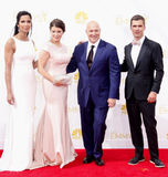Tom Colicchio, Gail Simmons and Padma Lakshmi Stock Photography