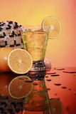 Tom Collins, Caipirinha or Pisco Sour Stock Image