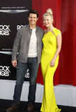 Tom Cruise και ταρσός της Julianne Στοκ φωτογραφία με δικαίωμα ελεύθερης χρήσης